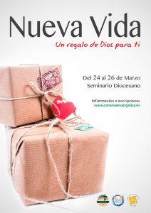 Cartel Curso Nueva Vida en Tenerife