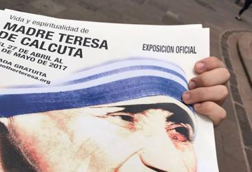 Exposición Madre Teresa de Calcuta Tenerife